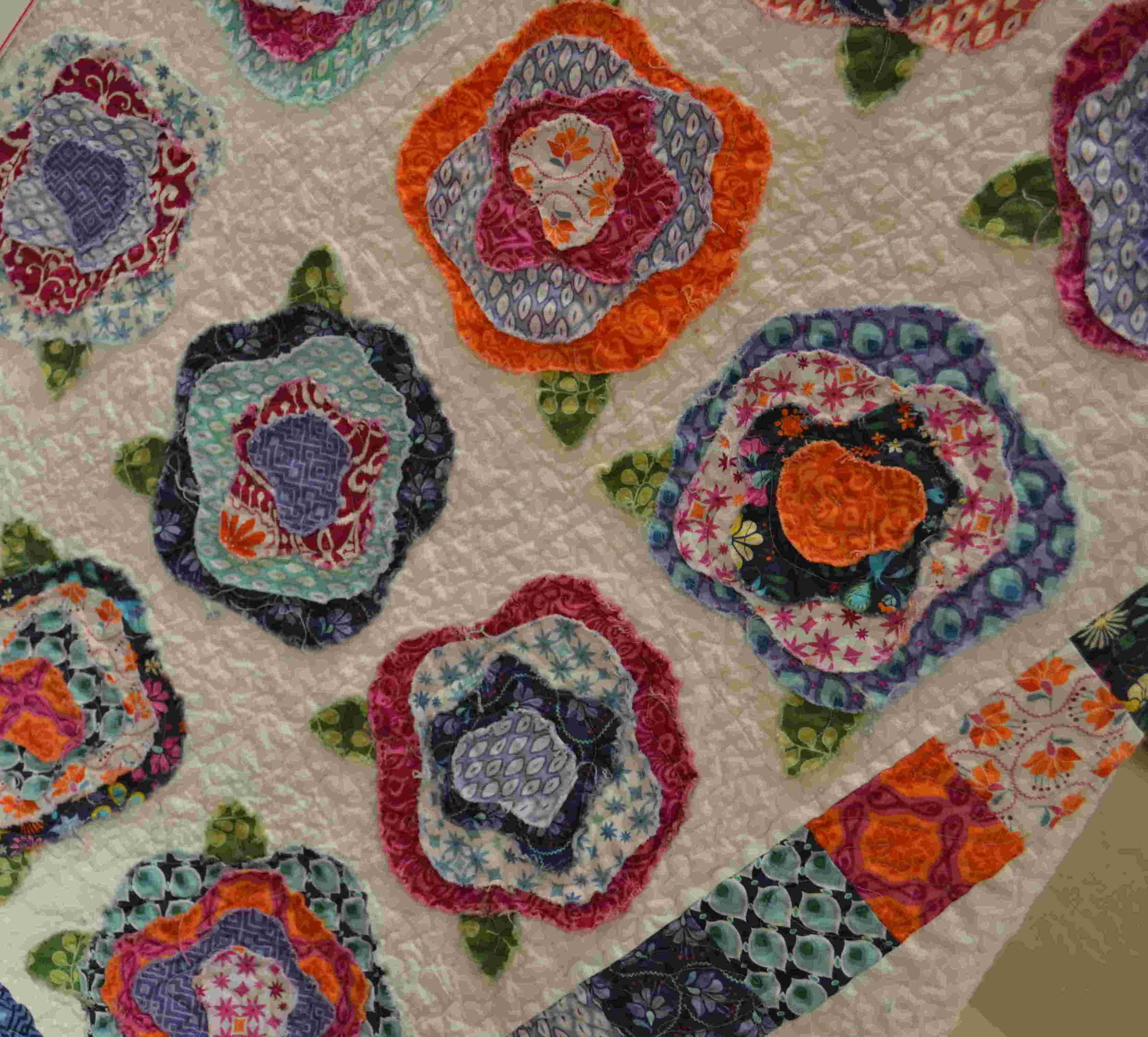French Roses Quilt Kit K16040. Found at quiltique.com   All things ... : french roses quilt pattern free - Adamdwight.com