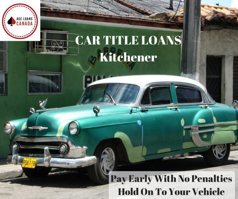 Car Title Loans Kitchener | Car loans, Credit check and Cars