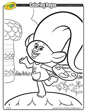 photograph regarding Trolls Printable Coloring Pages identified as Pin upon Cunning 2 ThE Main~Do it yourself GaLoRe