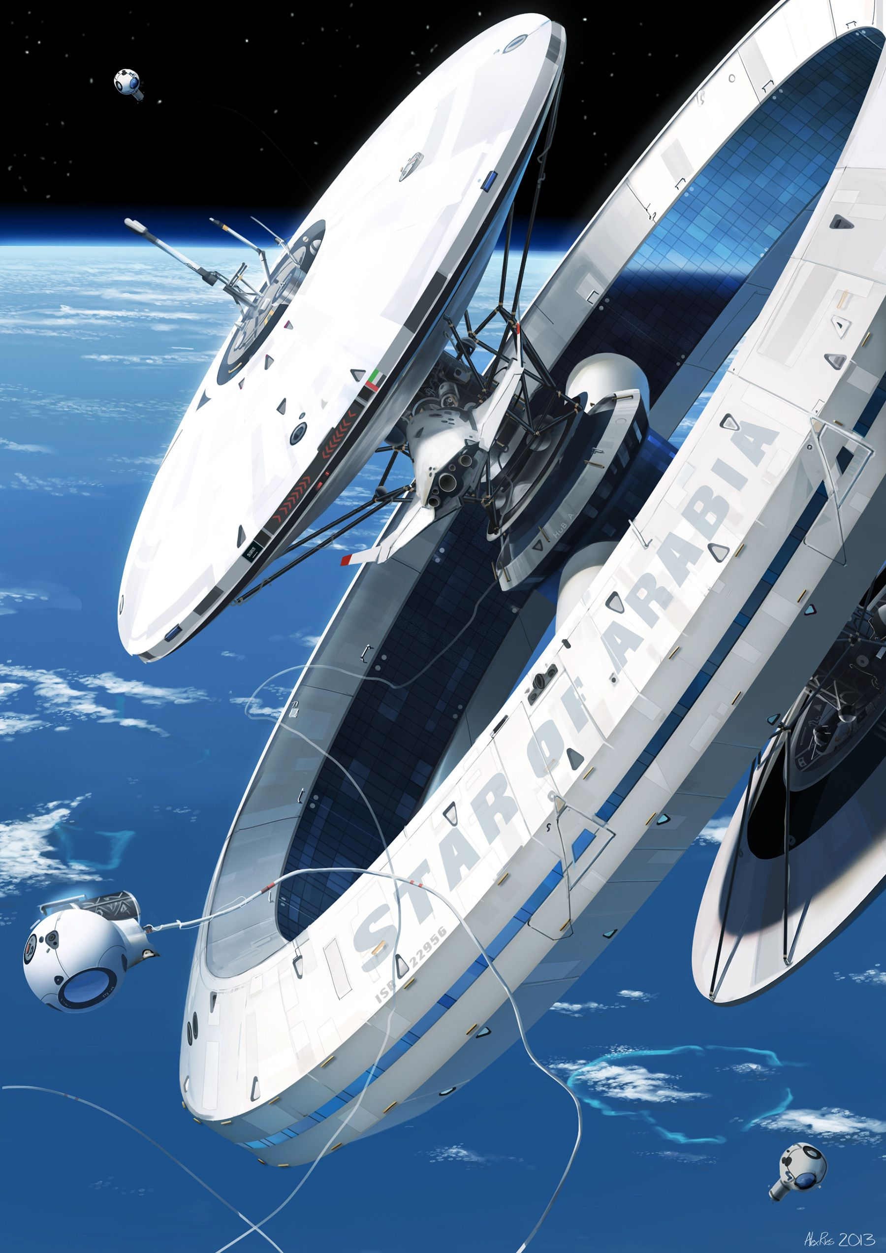 I want to live in these cool visions of the far future by ...