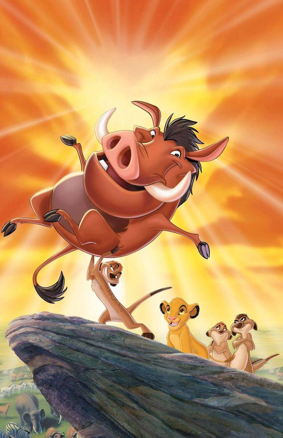 Pumba Timon Y Simba Walt Disney El Rey Leon 3 Rey Leon Carteleras De Cine Fotos De Princesas Disney