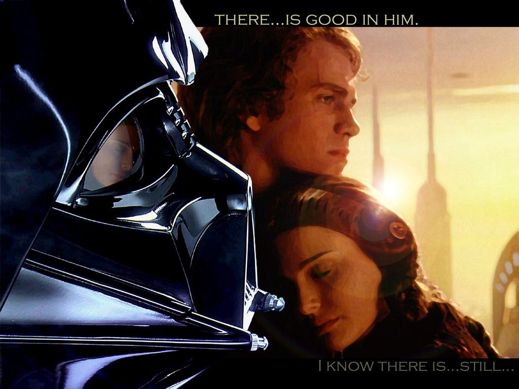 There Is Good In Him Starwars Star Wars Wallpaper Star