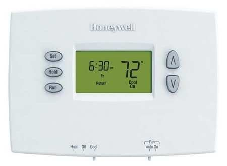 HONEYWELL TH2110DH1002 Thermostat,Low Voltage,Prog by