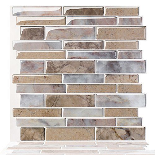 14 99 Juneslife Vinyl Wall Tiles Peel And Stick 3d Wall Tiles Self Adhesive Wall Tiles Firepro Vinyl Wall
