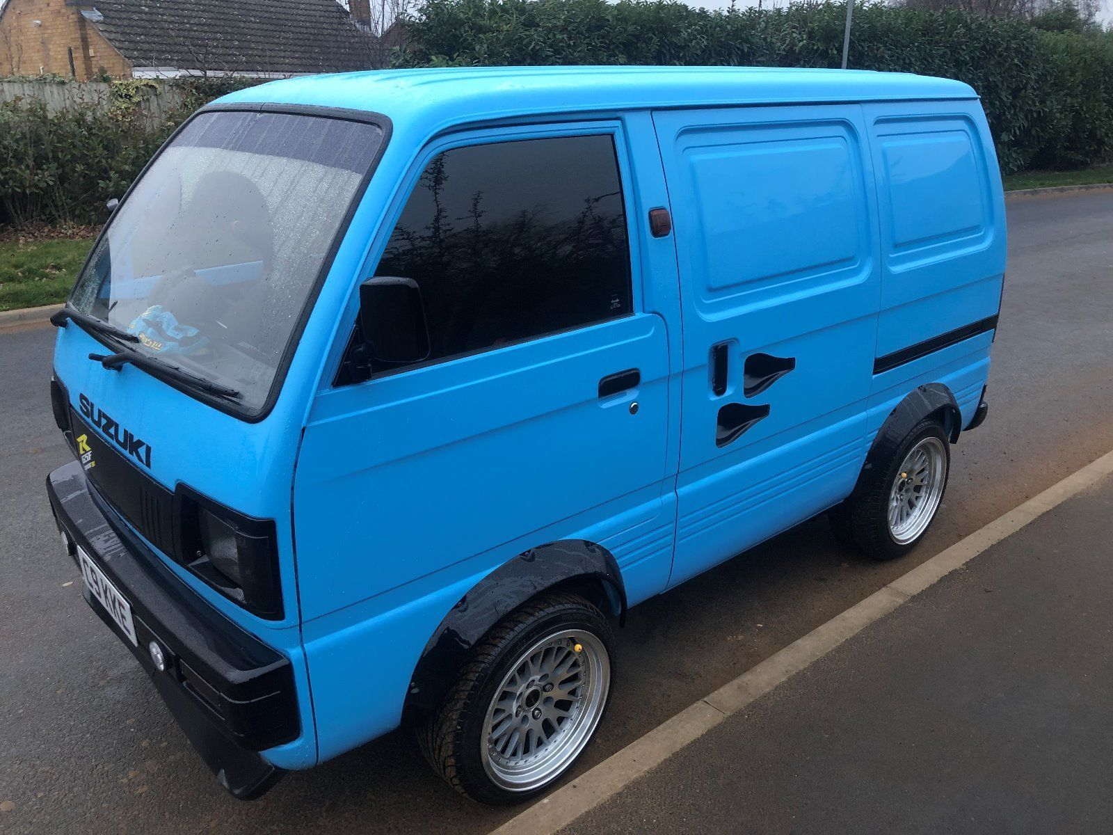 For Sale 1991 Suzuki Van With A Gsx1250 Motorcycle Engine Engine Swap Depot In 2020 Suzuki Carry Van Suzuki