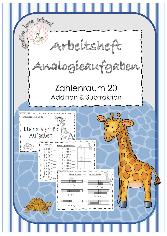Analogieaufgaben ZR 20 Arbeitsheft schulschließung ...