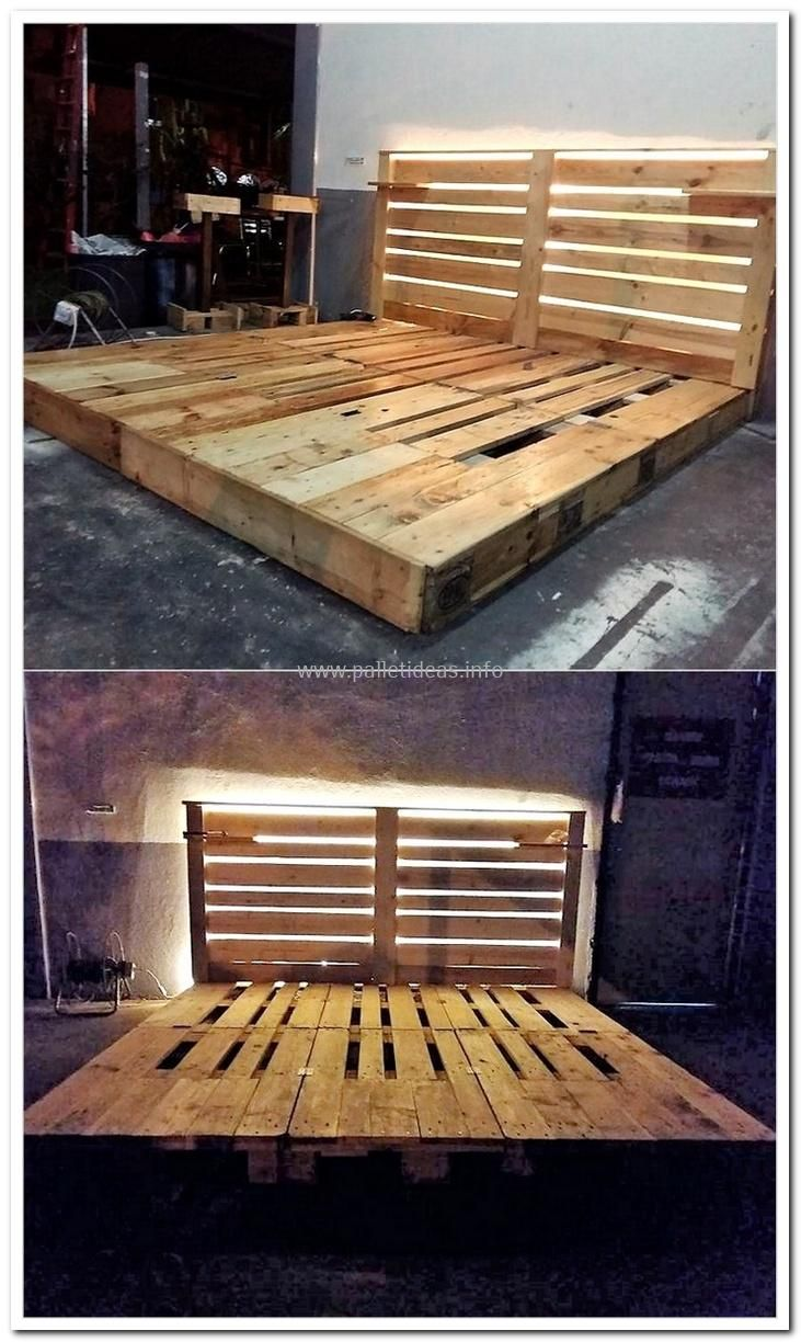 Build something different with reclaimed wooden pallets pallets