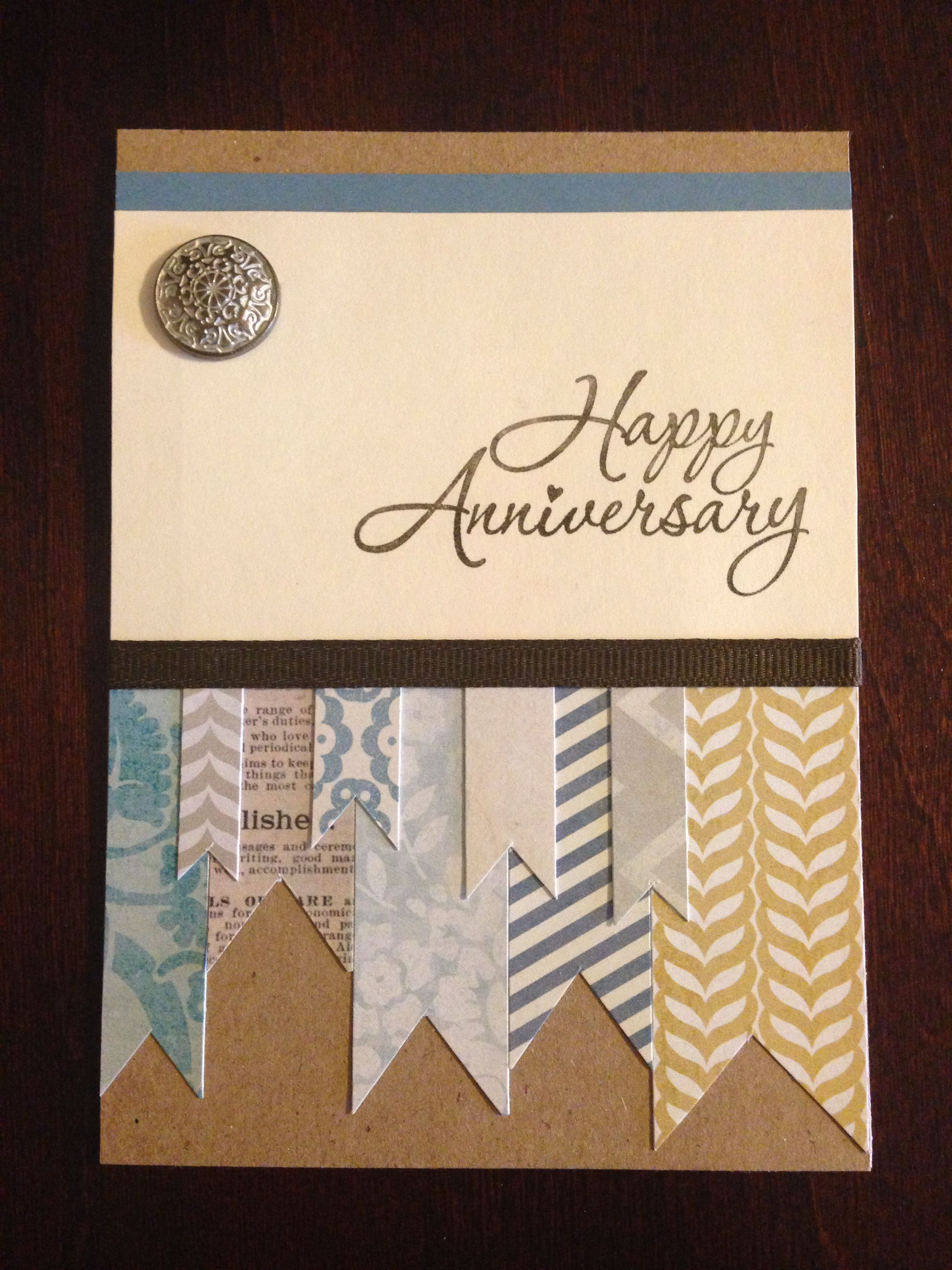 My Grandparents Anniversary Card Card Ideas Pinterest