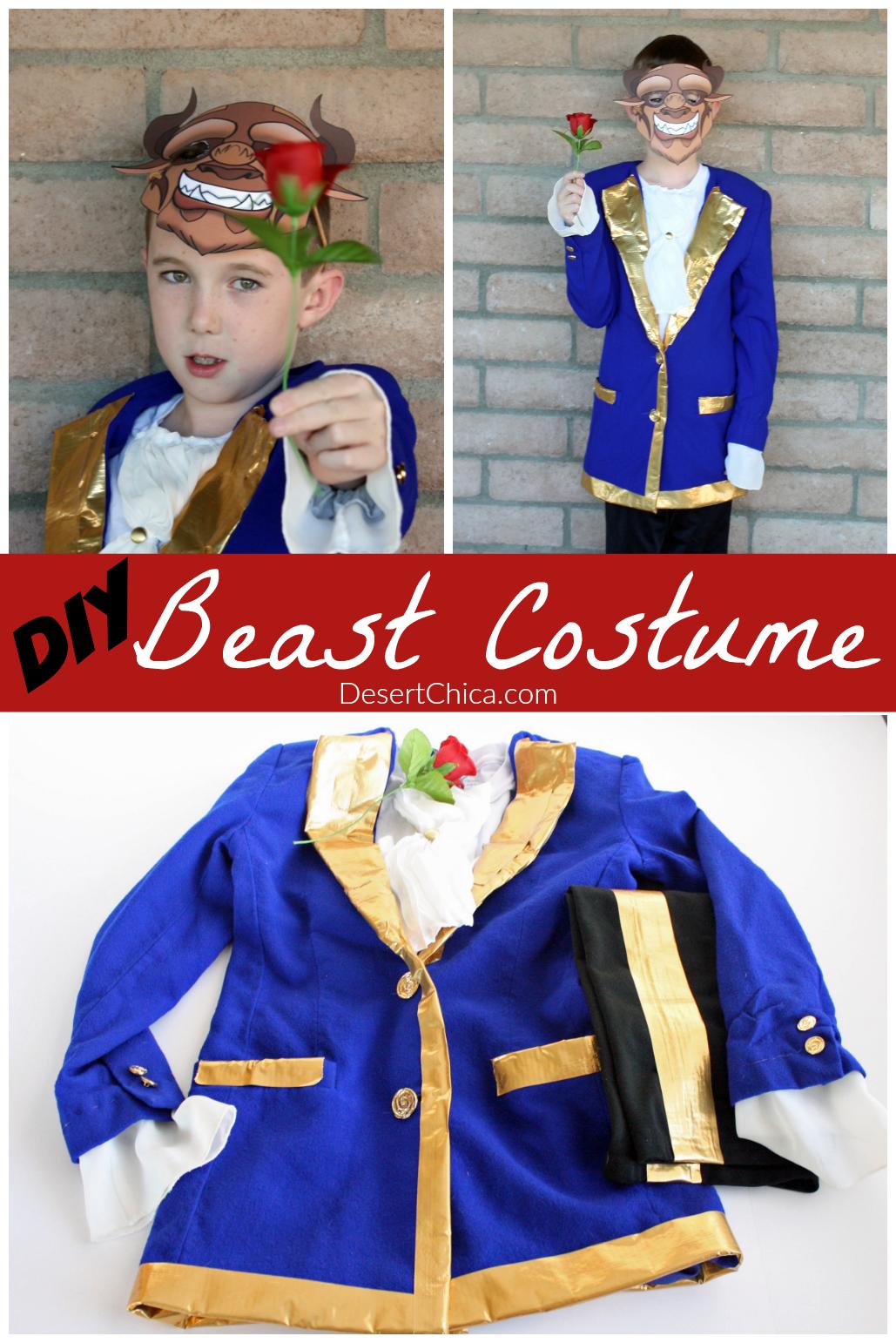 Diy Beast Costume