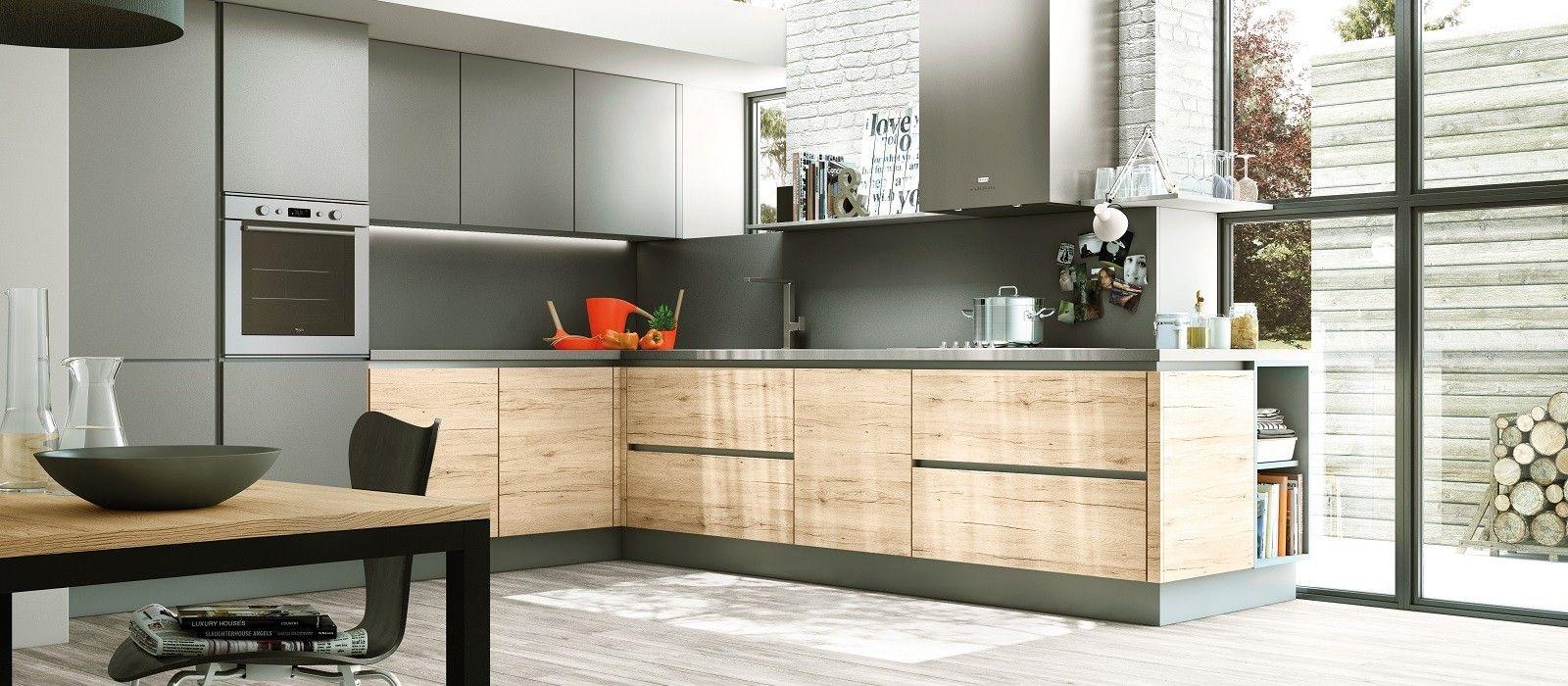 cuisines nos mod les design de cuisines quip e et. Black Bedroom Furniture Sets. Home Design Ideas