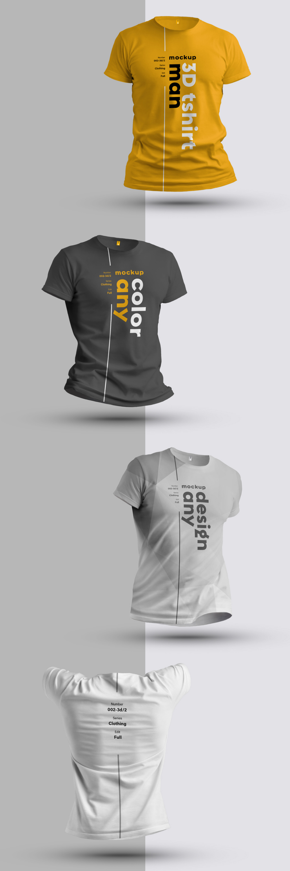 Download 4 3d T Shirt Mockups Pridbajte Cej Stokovij Shablon I Znajdit Bilshe Shozhih Shabloniv Na Adobe Stock Adobe Stock Kaos Model Pakaian Pakaian