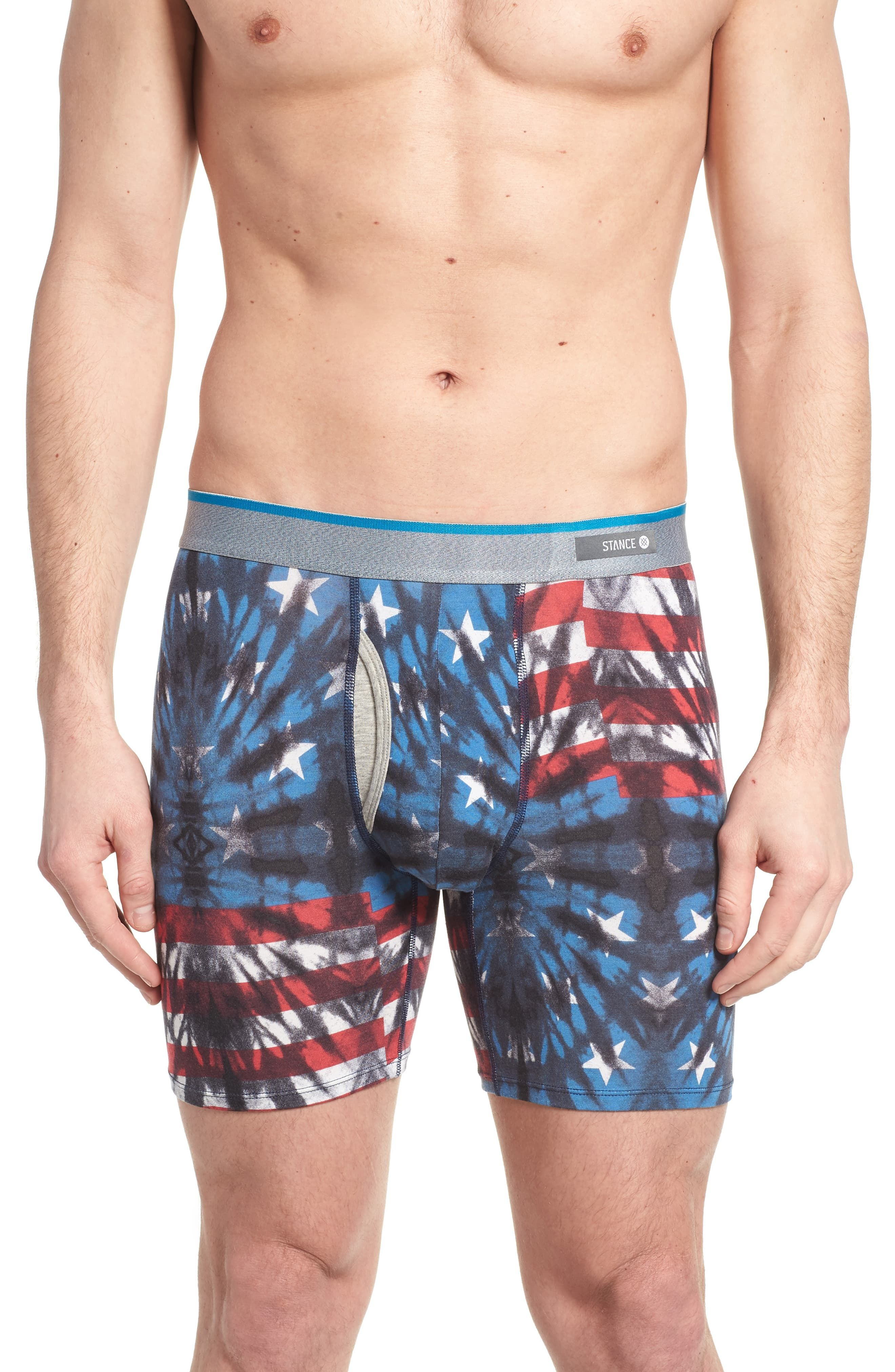 6de6bd5749db4 Men's Stance Fourth Boxer Briefs, Size Medium - Blue | Products in ...