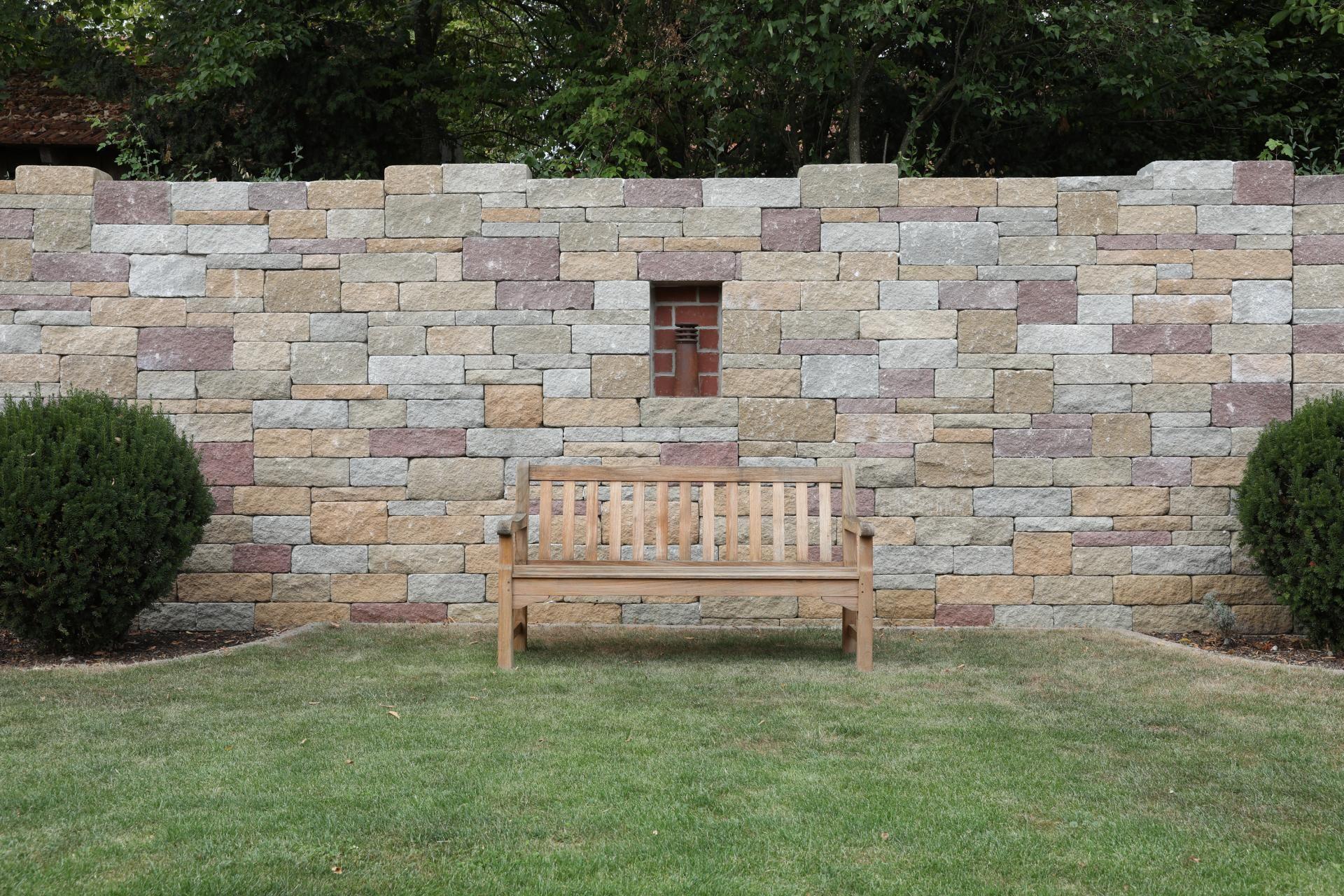 SANTURO Burgruinenmauer   Gartenmauern, Ruinen, Gartengestaltung