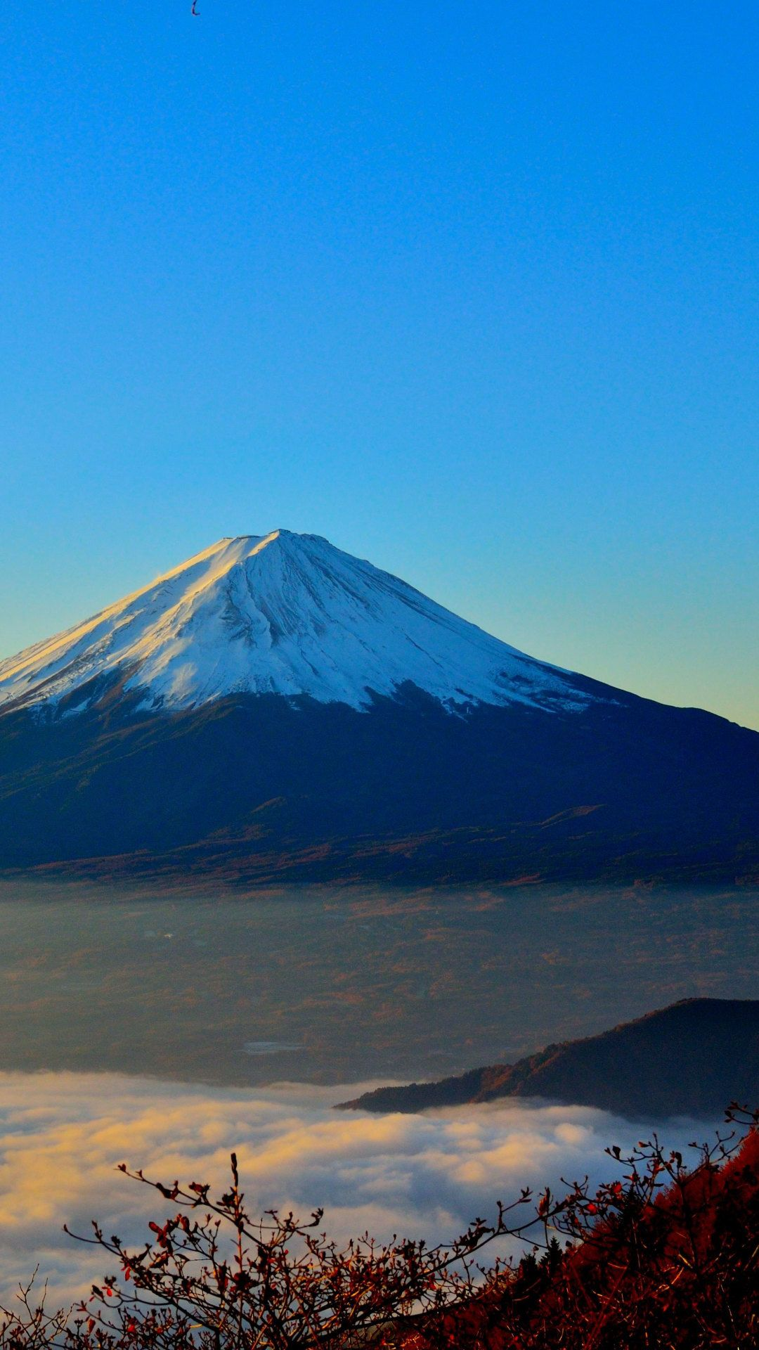 Mount Fuji Sunrise HD 4K Wallpaper, wallpaper mount fuji