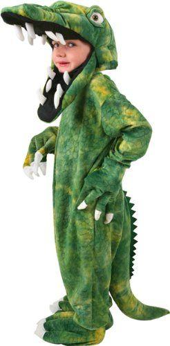 Child's Crocodile Halloween Costume (Small 4-6)