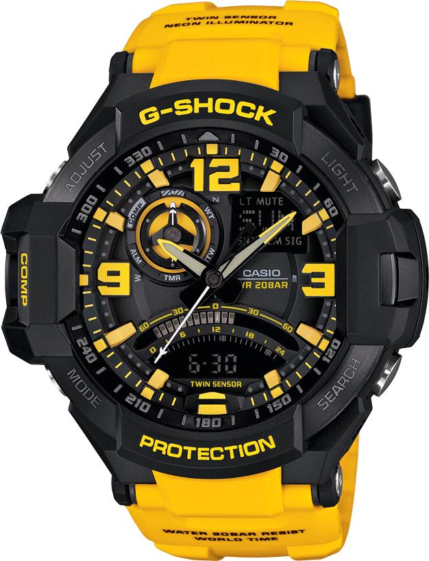 8200ea35f2b Casio Hombre GA-1000-9BCR G-shock Reloj Resina Negro