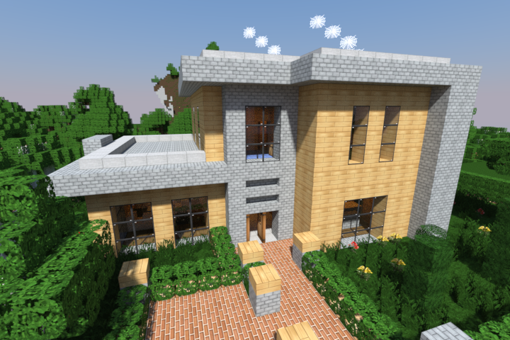 Minecraft Architecture Examples