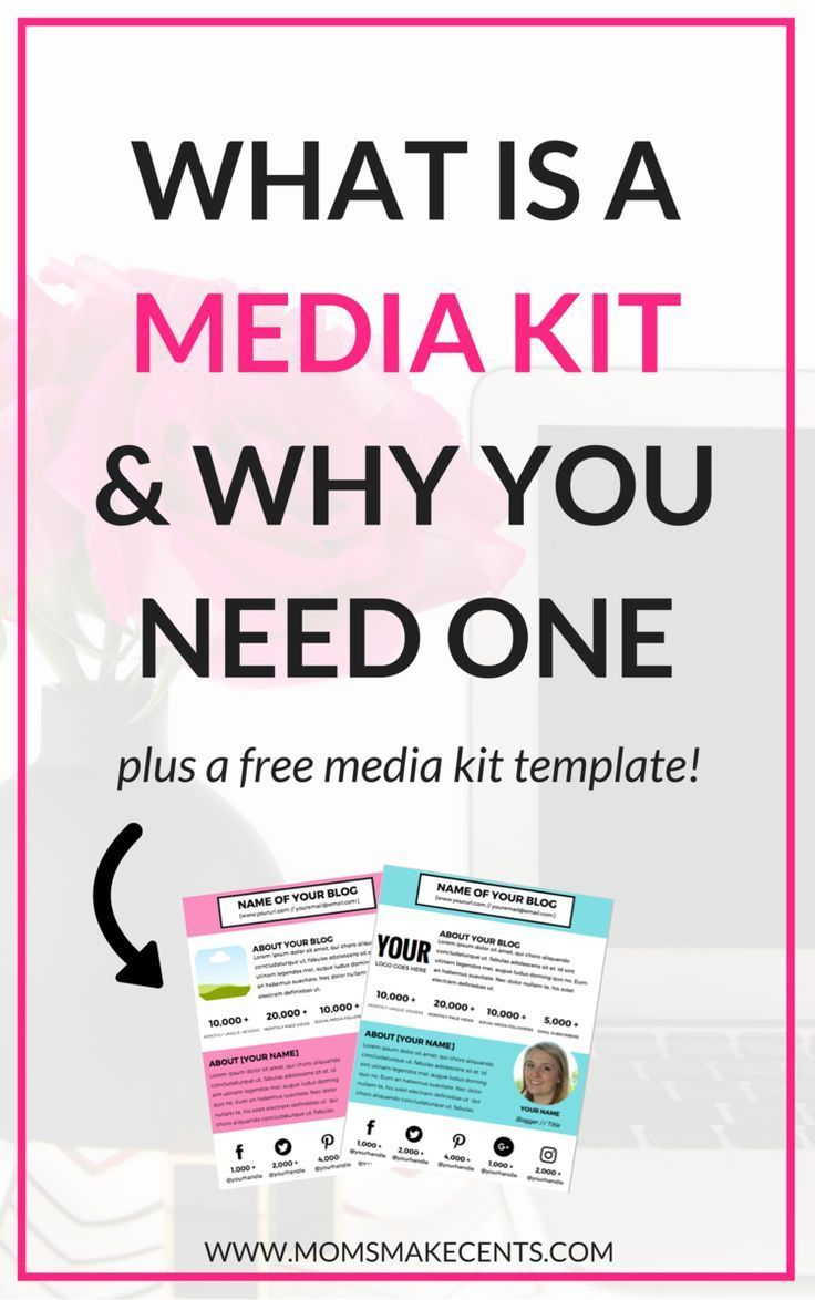 What Is A Media Kit & Why You Need One | Media kit, Media kit ...