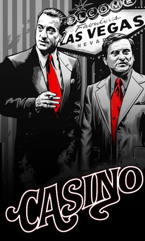 Robert de niro casino posters