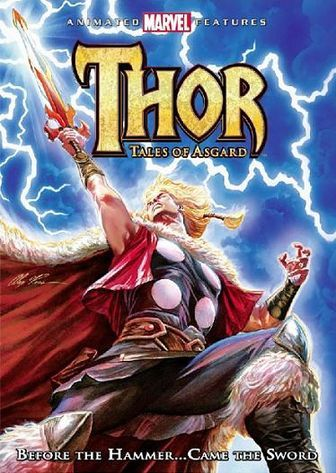 Thor: Tales of Asgard (2011) dvd