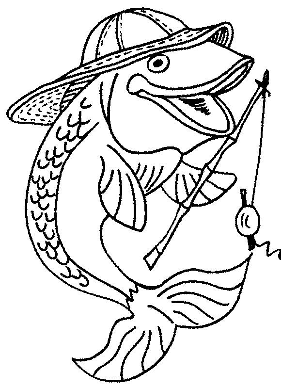 Fish Coloring Pages Free Download http://procoloring.com/fish ...