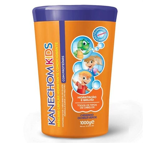 Creme Condicionante Kanechom Kids 1000g  http://www.lojasrede.com.br/produto/Creme-Condicionante-Kanechom-Kids-1000g-126254