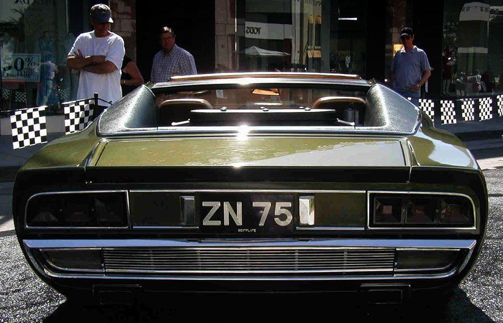 1969 Lamborghini Miura Roadster Zn75 3498 In Green Note The