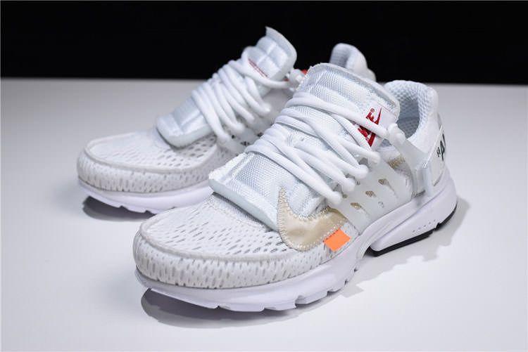 promo code bbfd3 b5575 Off White x Nike Air Presto White THE TEN Sneaker Men And Women Running Shoe