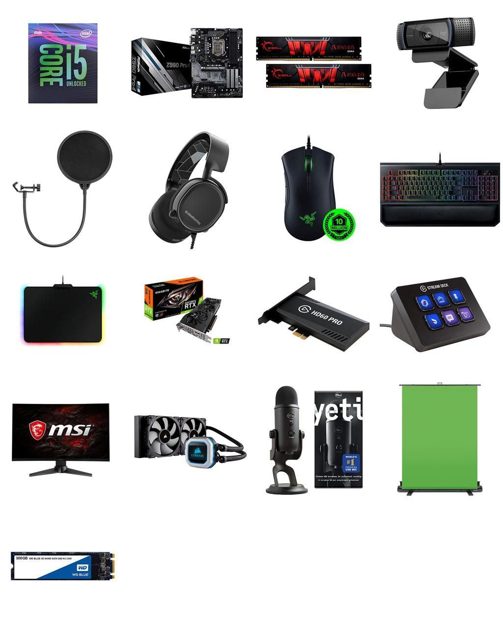 Black Friday Professional Streaming Setup For Youtube Gaming 2019