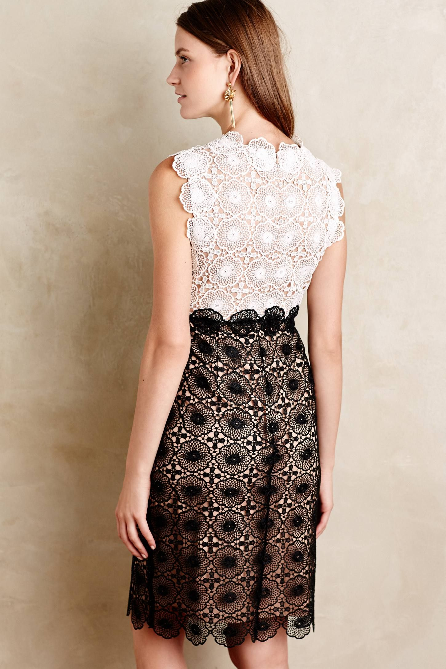 Concerto lace dress lace dress anthropologie and designers