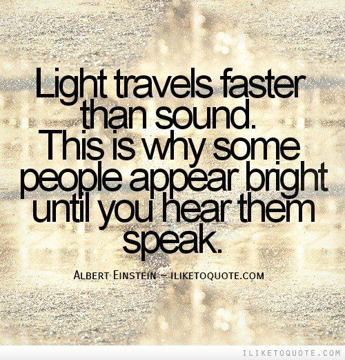 Than sound travels faster what What travels