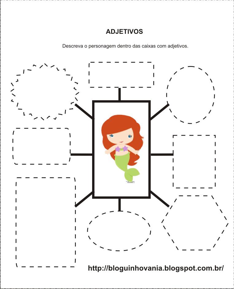 Lingua Portuguesa Adjetivos Beda 10 Adjetivos Lingua Portuguesa Literatura Infantil