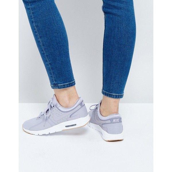 In Air Max Trainers Zero Nike Grey Purple xU0Fq0n