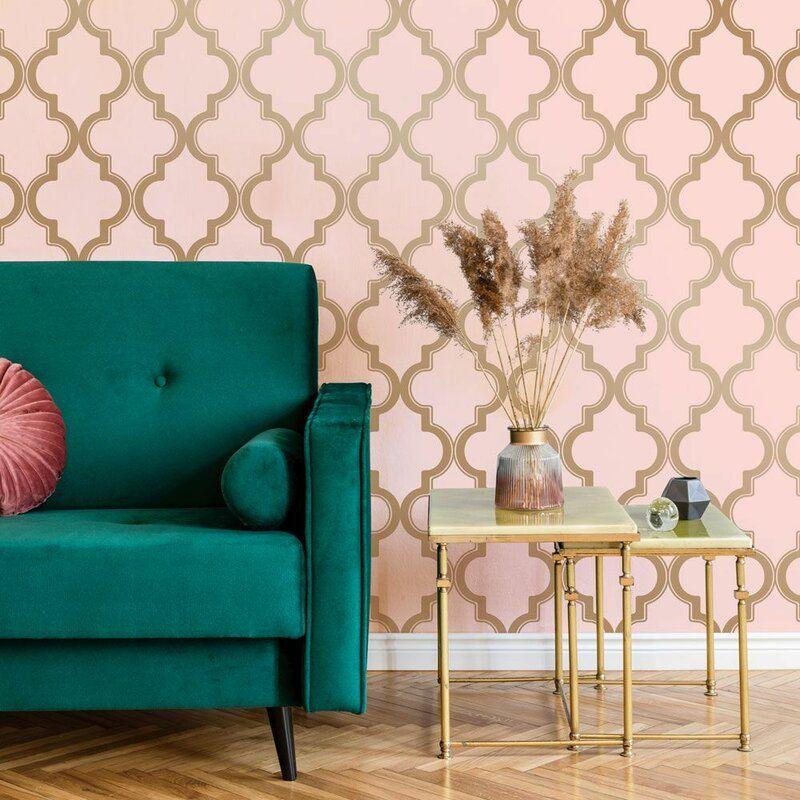 Oliveira 16 5 L X 20 5 W Peel And Stick Wallpaper Roll Peel And Stick Wallpaper Decor Removable Wallpaper