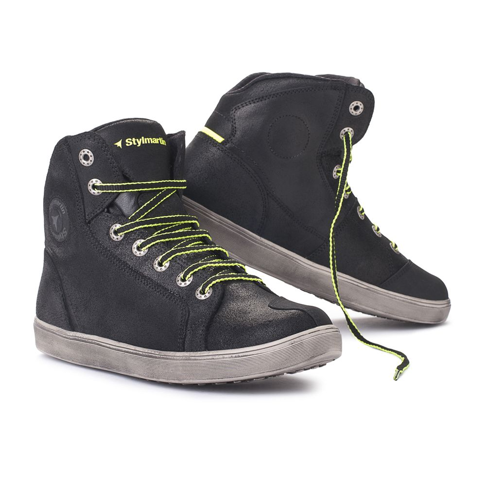 Motorcycle shoes, Mens boots casual