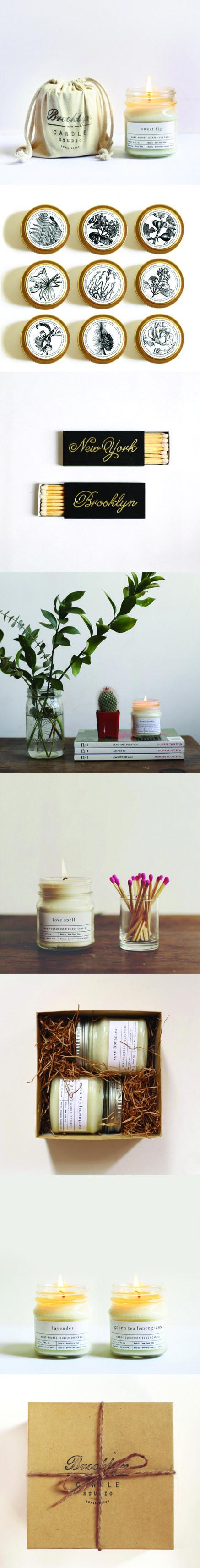 Brooklyn Candle Studio Packaging