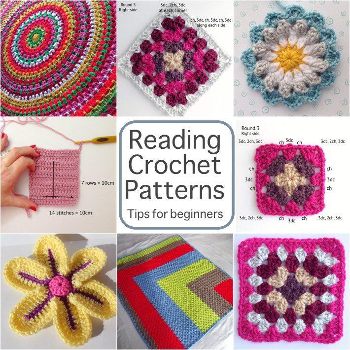 Reading Crochet Patterns: A Beginner\'s Guide | Lectura de, Patrón de ...