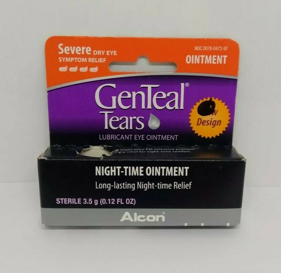 Genteal Tears NightTime Lubricant Eye Ointment Severe Dry