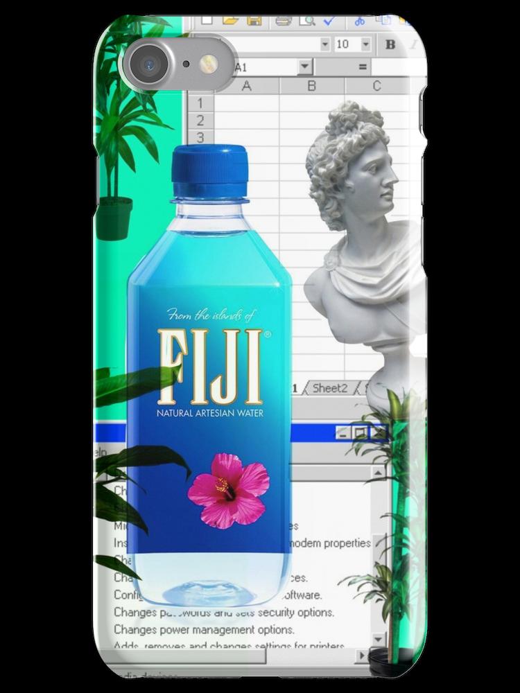 Fiji Water Vaporwave Iphone Case Cover Water Fiji