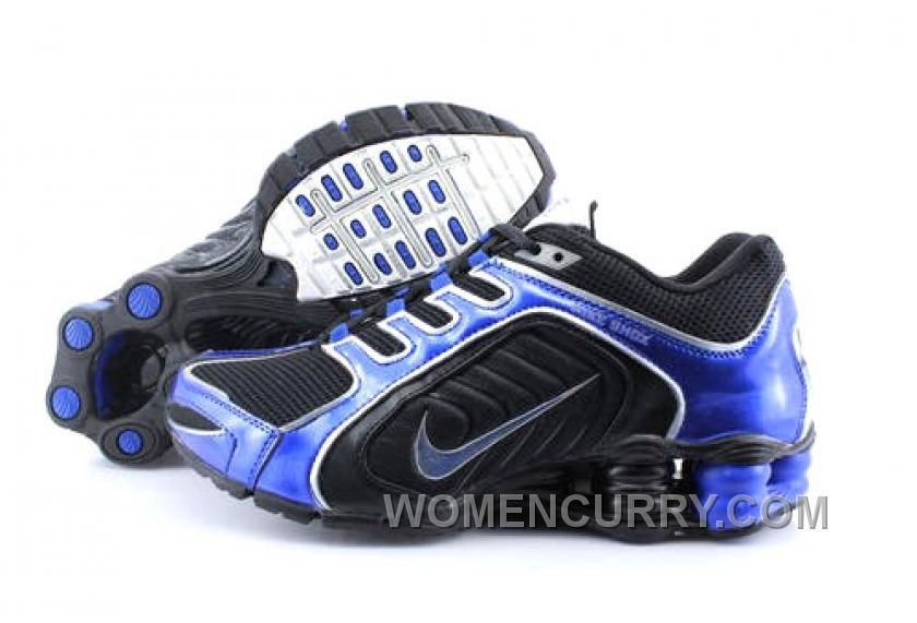 Discount Authentic Mens Nike Shox R5 Shoes Black/Dark Blue