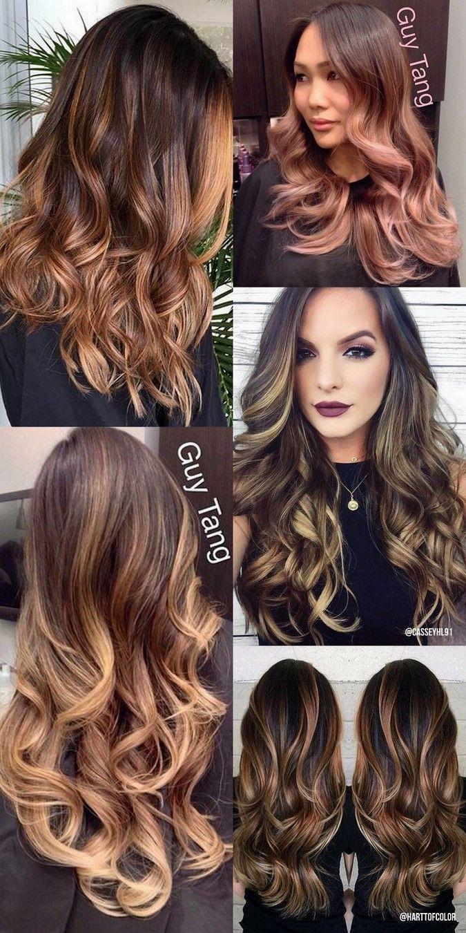d313e223be4 A balayage é uma coloração permanente que procura dar um efeito natural ao  cabelo
