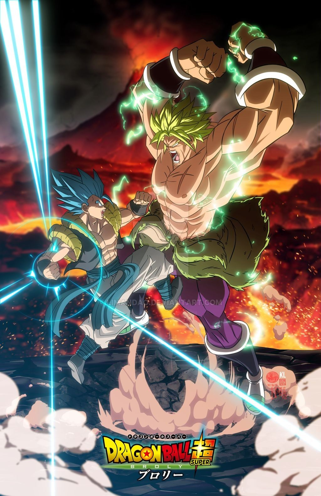 Dragon ball Super Broly: Mightiest VS Mightiest by limandao on DeviantArt