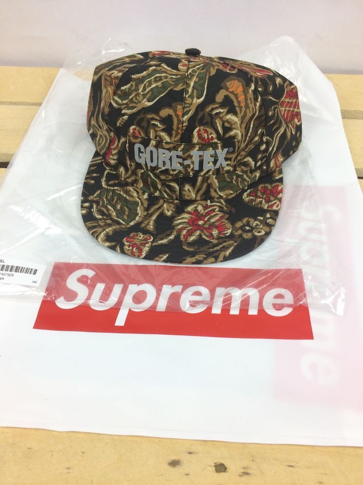 40d97a85 Supreme X Gore-Tex 6 Panel Flower Print Hat Cap New Dead Stock 100%  Authentic #Supreme #BaseballCap