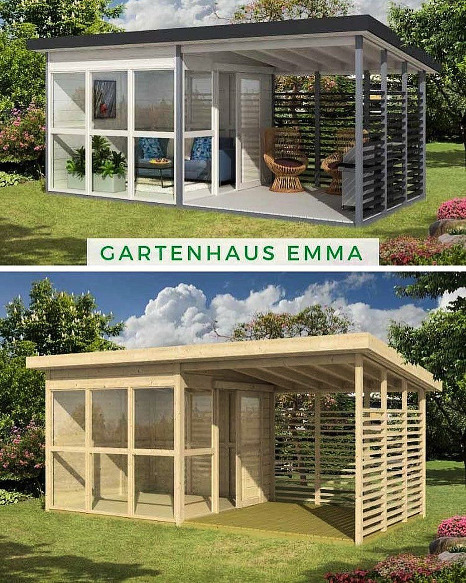 Cabins Shed Diy On Instagram Planning To Build A Beautiful Tiny Cabin Or Shed But Don T Have Any Idea From Where Enclosed Gazebo Garden Room Backyard