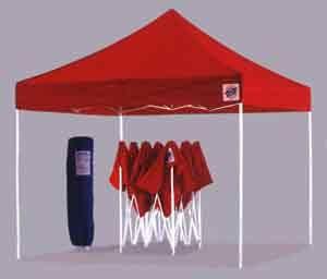 EZ Up Canopy Tent Eclipse II Steel Frame 10 X10 & EZ Up Canopy Tent Eclipse II Steel Frame 10 X10   Craft show ...
