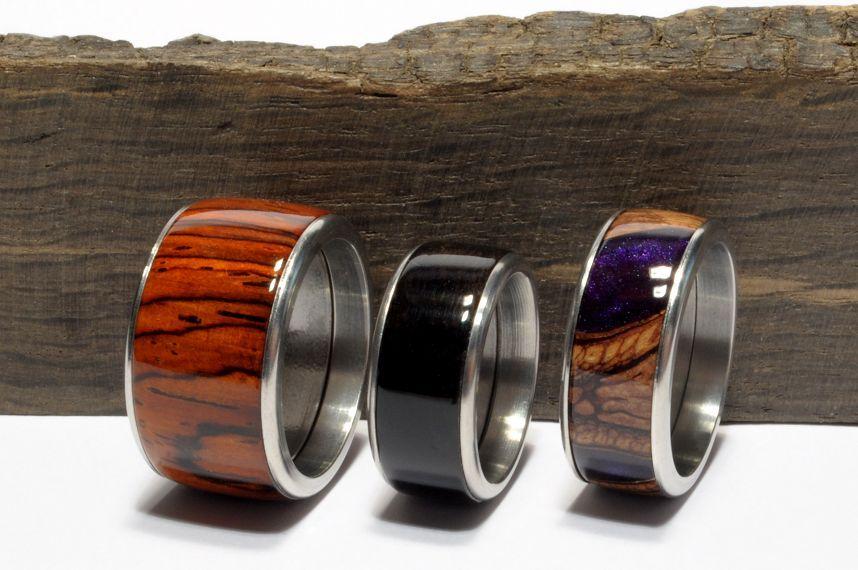 bausatz f r fingerringe aus edelstahl in 7 gr en und jede gr e in 3 verschiedenen breiten. Black Bedroom Furniture Sets. Home Design Ideas