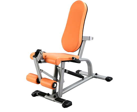 Leg extension machine for working out in the home gym fitness