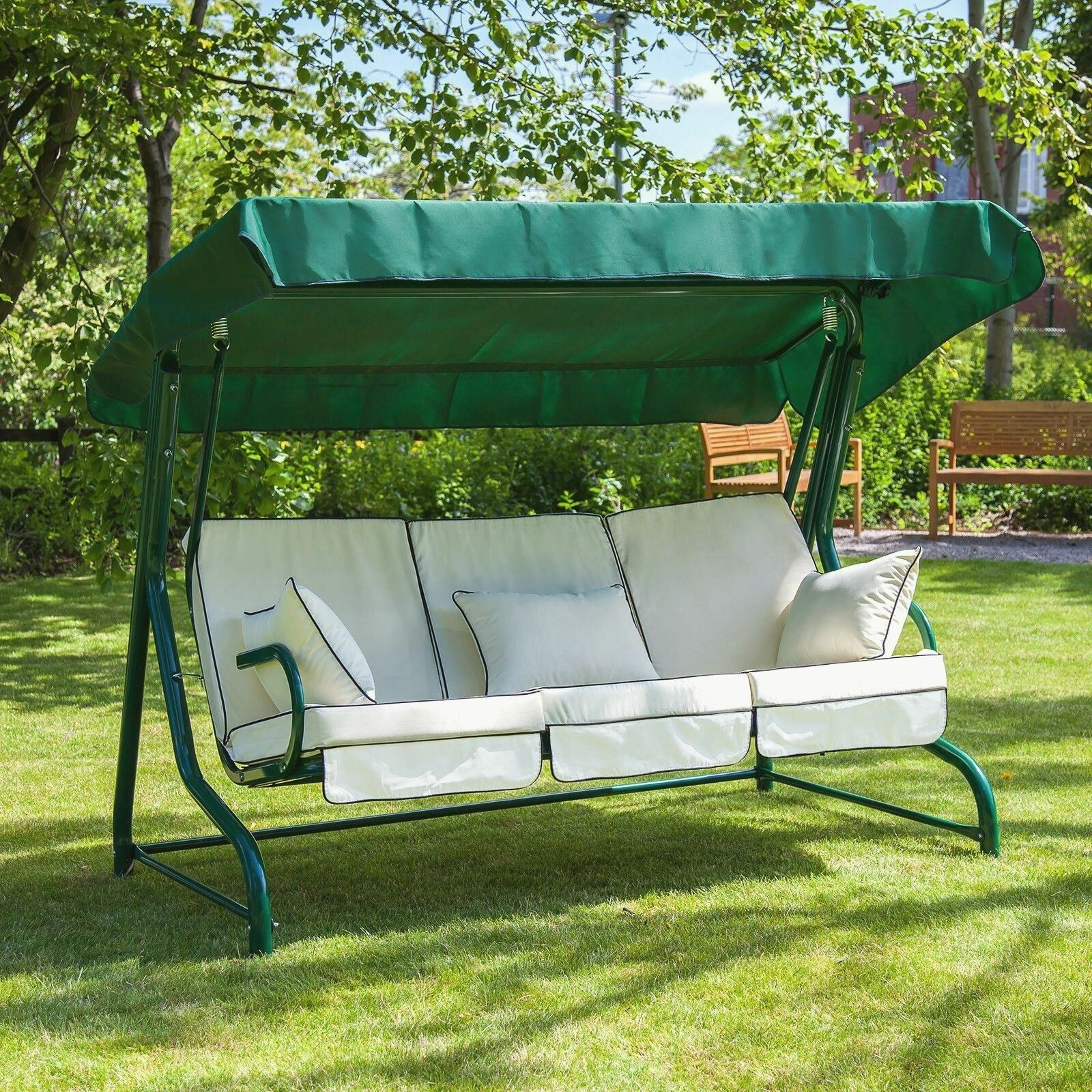 9 Awesome Garden Swing Seats for the Minimalist Home Garden