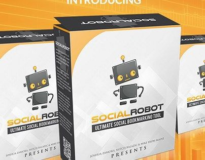 "Check out new work on my @Behance portfolio: ""SOCIAL ROBOT review-88%DISCOUNT&500K BONUSES"" http://on.be.net/1K4cLiD"