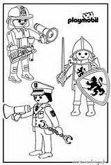 Playmobil Ausmalbilder Feuerwehr - Die mutigen